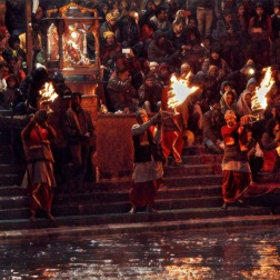 Ganga arti, Haridwar
