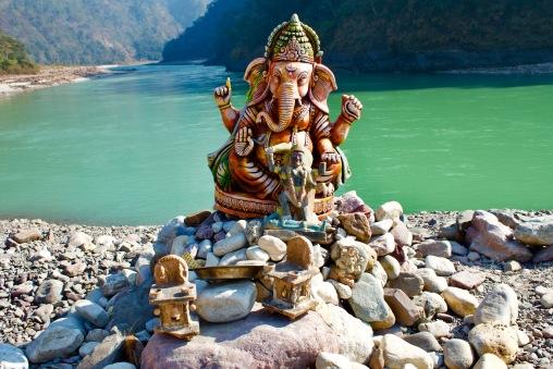 Ganesha shrine, Shivpuri