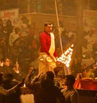 Ganga arti, Dashashwamedh Ghat