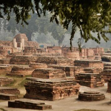 Sarnath excavated site